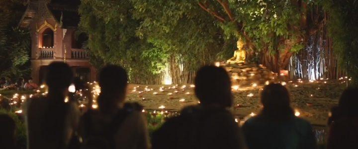 Asalha Puja 2017 Wat Phan Tao วันอาสาฬหบูชา วัดพันเตา