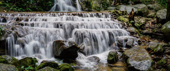 Mae Kam Pong Waterfall & Kew Fin น้ำตกแม่กำปอง กิ่วฝิ่น