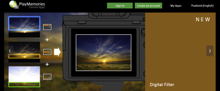 Install a Playmemories Camera App on Sony Alpha Cameras